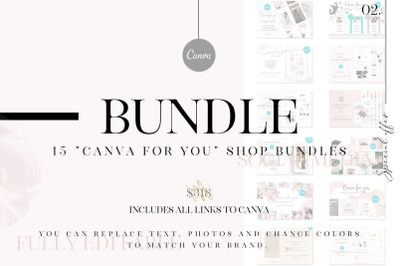 Canva for you collection - 15 in 1