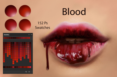 Blood Ps Swatches