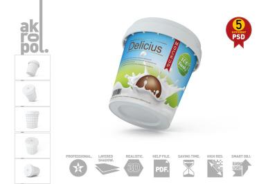 Ice Cream Tub Mock-Up