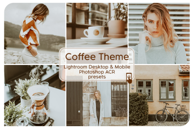 Coffee Theme Lightroom Presets