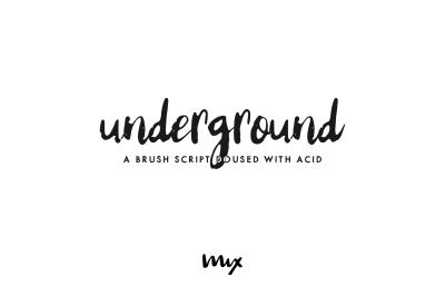 Underground - An Acid-Doused Script