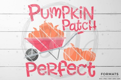 Pumpkin Patch Perfect SVG