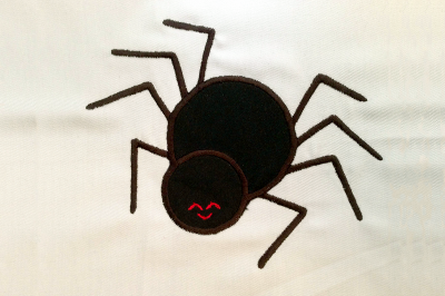 Cute Spider | Applique Embroidery