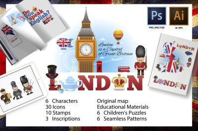 London Creator of teaching materials