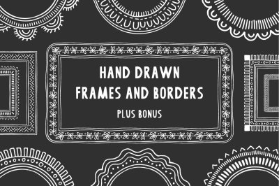 Hand drawn frames & borders