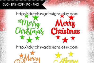 Text cutting files Merry Christmas, christmas text svg, christmas svg
