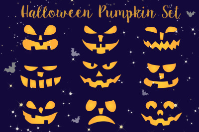 Halloween Clipart, Cute Digital illustrations PNG