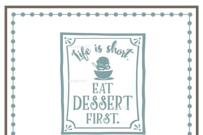 Dessert SVG - Home Vector
