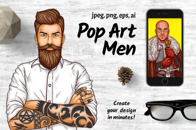 Pop Art mens