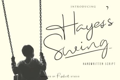 Hayes's Swing