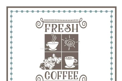 Fresh Coffee SVG - Coffee Vector