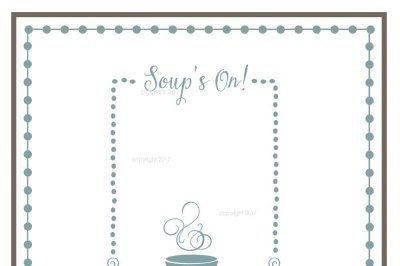 Soup SVG Cut File - Kitchen Vector, Food SVG