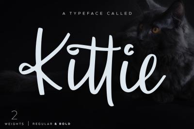 Kittie   Regular & Bold