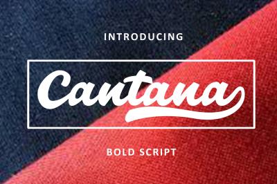 Cantana Bold Script