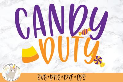 Candy Duty SVG Cut File