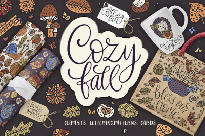 Cozy fall. Big design collection.