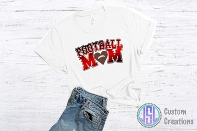 Football Mom | SVG DXF EPS PNG Digital Cut File