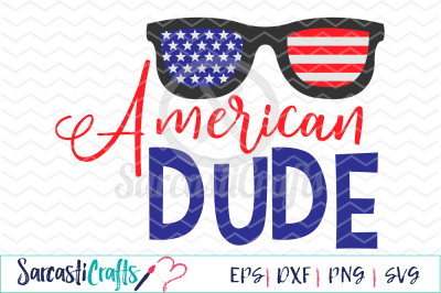 American Dude - EPS SVG DXF PNG