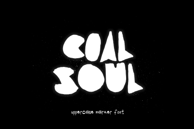 Coal Soul Typeface & Extras
