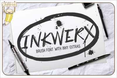 InkWerx Font & Extras
