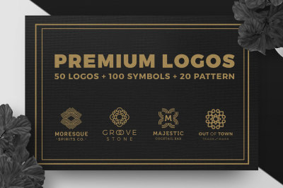 Premium premade logo icon and pattern