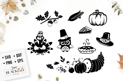 Thanksgiving SVG pack
