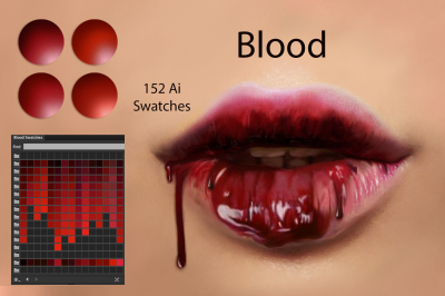 Blood Ai Swatches