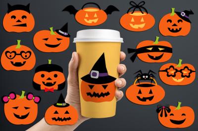 Jack O Lantern Halloween Pumpkins Graphic Illustrations