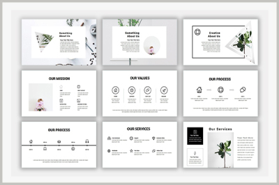 Zolla Powerpoint Template