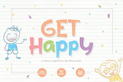 Get Happy Font