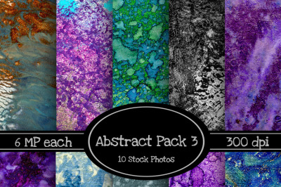 *ON SALE* 10 Pack of Abstract Texture Backgrounds Pack 3
