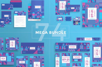 Design templates bundle | flyer, banner, branding | Housing Design Webinar