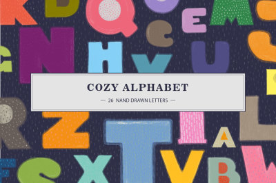 ABC. 26 Cute Hand-Drawn Letters