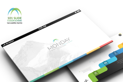 Monday Powerpoint Template