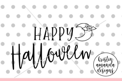 Happy Halloween SVG DXF EPS PNG Cut File • Cricut • Silhouette