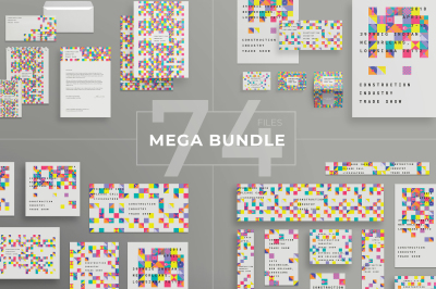 Design templates bundle | flyer, banner, branding | Industry Trade Show