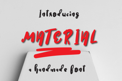 Material Typeface