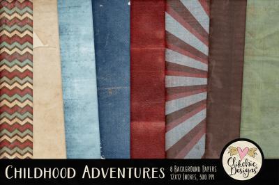 Childhood Adventures Background Textures
