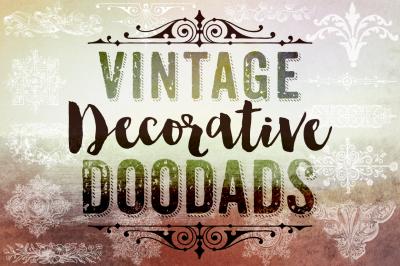 Vintage Decorative Doodads & Photoshop Brushes