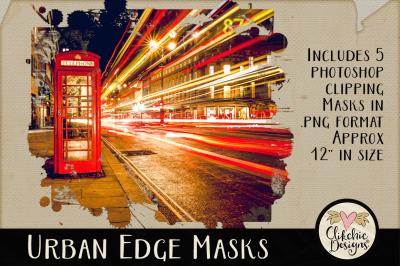 Urban Edge Photoshop Clipping Masks & Tutorial