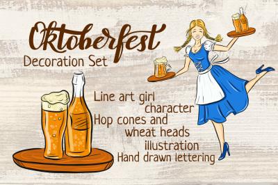 Oktoberfest decoration set