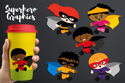 Run Superhero Clipart, Running graphics