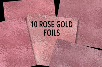 Rose Gold Foils