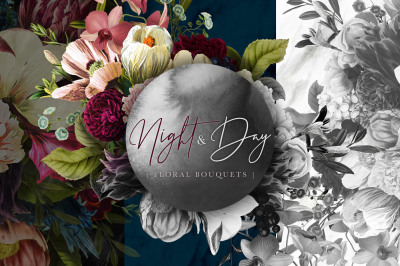 Night and Day Floral Bouquets
