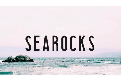 Searocks | A clean font