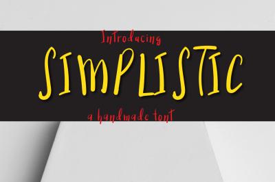 Simplistictypeface