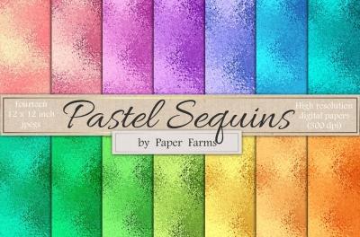 Sequins digital paper