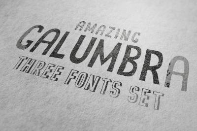 Galumbra Font Set