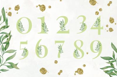 Greenery Numbers