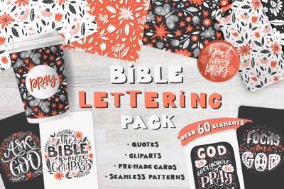 Bible lettering PACK